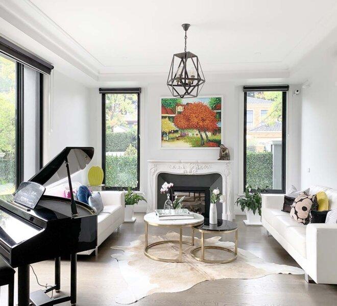 Formal Room - Balwyn North - Interior Design - Interior Matters