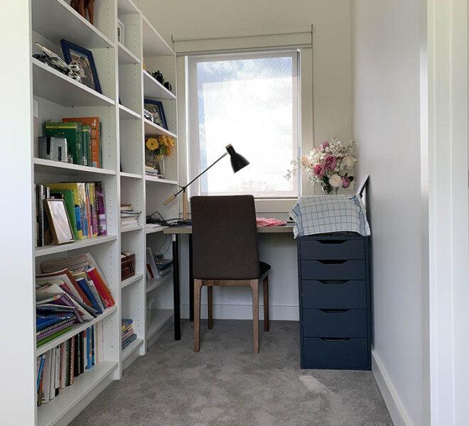 Study Nook Before Renovation