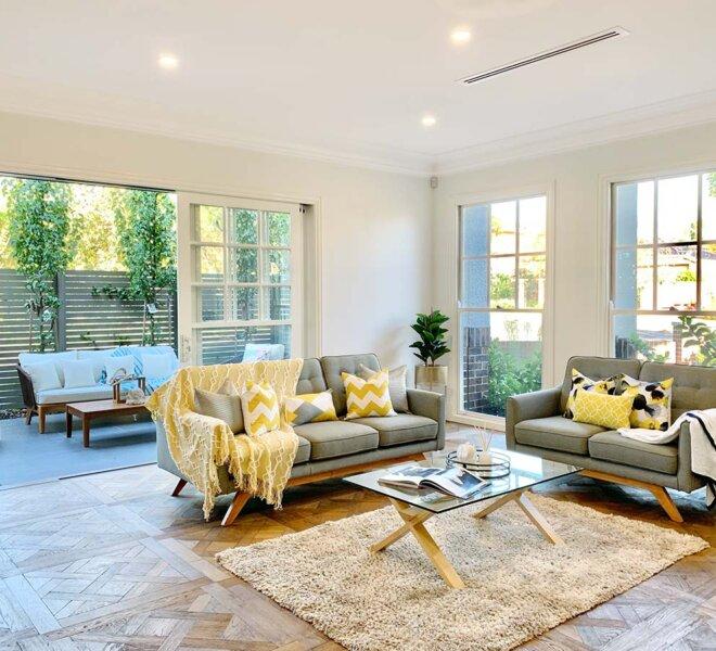 Living Room After Renovation