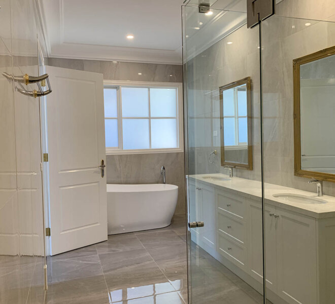 MBR Ensuite Vacant Before Renovation